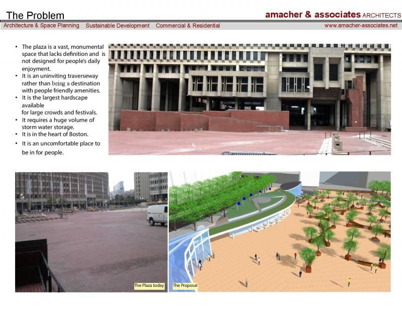 BostonCityHall Plaza problem