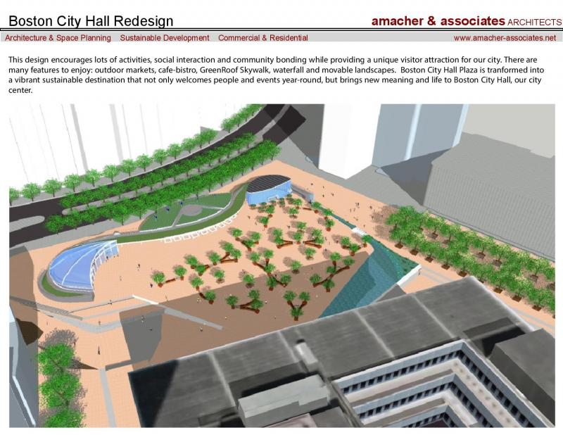 Boston City Hall Plaza redesign